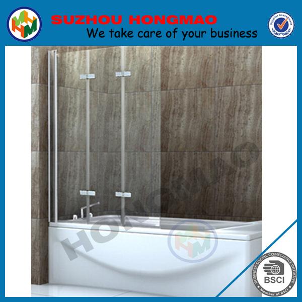 Bathtub Frameless Glass Shower Door, Bathtub Frameless Glass Shower ...