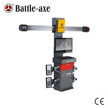 hunter Level 3D wheel alignment and balancing machine with freely spare parts supply