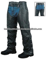 Leather MotorBike Chaps