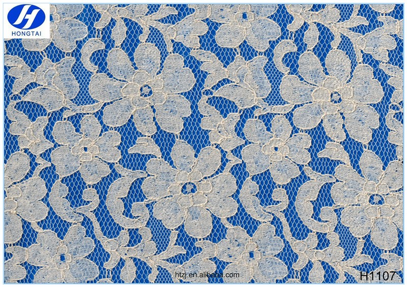 Hongtai wholesale High Quality japanese cotton embroidery lace fabric guipure lace fabric