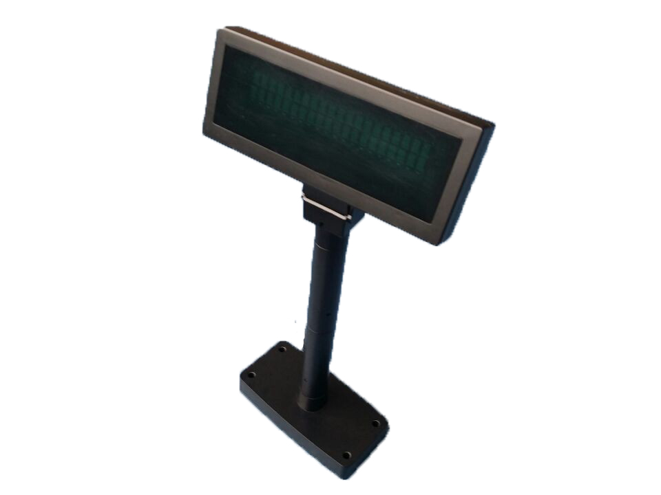 LED Pole Display with 360 degree Rotation Angle / Customer Display