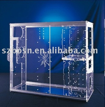 Acrylic Computer Case,Perspex Computer Box,Plexiglass PC Box