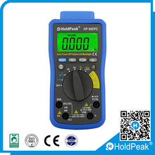 Holdpeak Mobile Phone APP DMM 3 3/4 digital multimeter Vol tmeter Megohmmeter Ohmmeter hFE Current Tester
