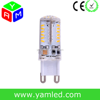 Buy G9 bulb 104 3014 SMD LED 220v energy-saving 5W Capsule Silica ...