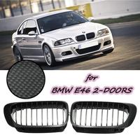 2015 Brand New Audew Coupe Carbon look FRONT HOOD GRILLE 01-06 For BMW E46 2D M3 ///M SPORT- 99-03 E46 2D