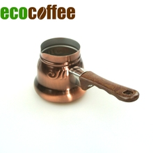 20*175 hot sell copper plated stainless steel coffee warmer / coffee pot / milk boiling pot