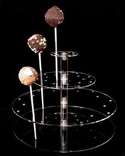 Hand Made Crystal Clear Acrylic Display Chocolate for Retail Store or Shopping Mall