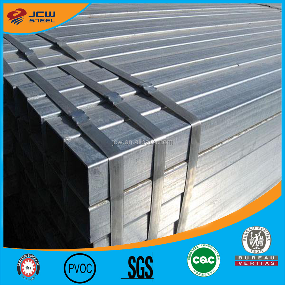Cheap price Galvanized round / square tube / GI pipes for building / construction materials