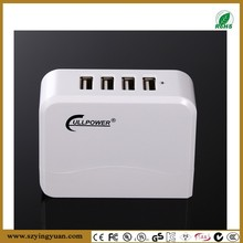 4 port usb charger public mobile phone charging station