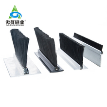 Dust Proof Fire Rated Strip brush Weather Strip Sealing Devices