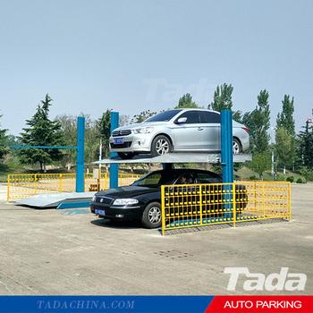 Pjs cheap 2 post car parking garage lift buy parking for Cheap car garages