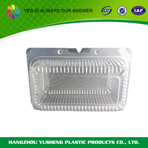 Disposable cake boxes,clear plastic clamshell containers