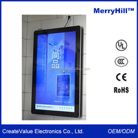 Wall Mounted Touch Screen Monitor 19/ 22/ 24/ 32/ 42 inch Indoor Advertising LED LCD TV Display