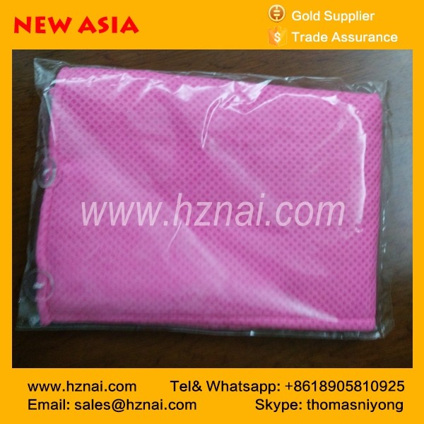 pva chamois with mesh cloth