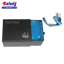 Solong Tattoo Factory Supply Wholesale Lots 100pcs Tattoo Clip Cord Sleeves
