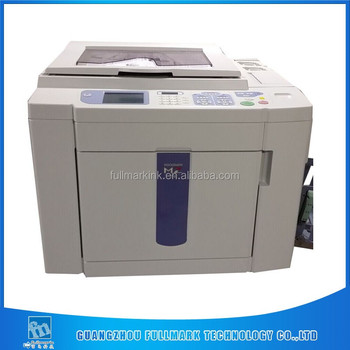 MZ770 A3 used photo color machine for risos print stencil digital duplicator