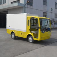 Utility Cart Electric Closed Pickup Truck