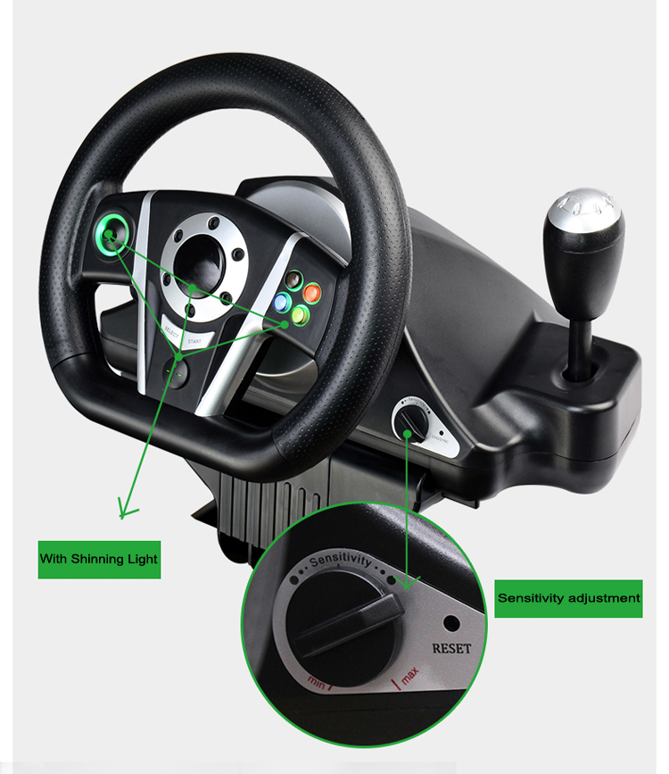 2015 Brand New OIVO steering wheel control , For xbox 360 steering wheel, OIVO steering wheel