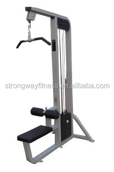Pin Loaded Gym Equipment lat pulldown Exercise gym Machine
