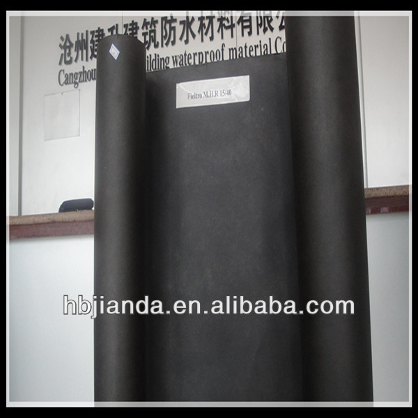 Roof top waterproof materials for sale asphalt black building paper