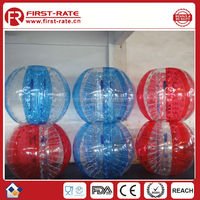 1.2M PVC inflatable bumper soccer ball for football games