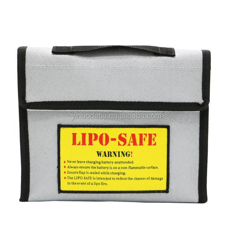 LiPo Battery Safe Guard Charging Protection Explosion-Proof Bag OEM