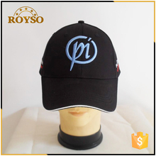 3D Embroidery Fashion Style Teenager Velcro Back Closure Sport Cap and Hat