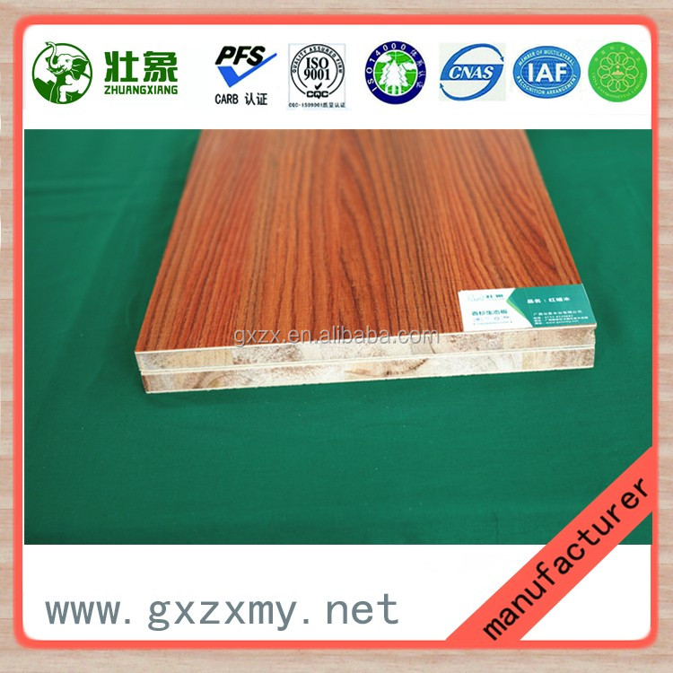High Quality Double Sided Melamine Faced Birch Plywood