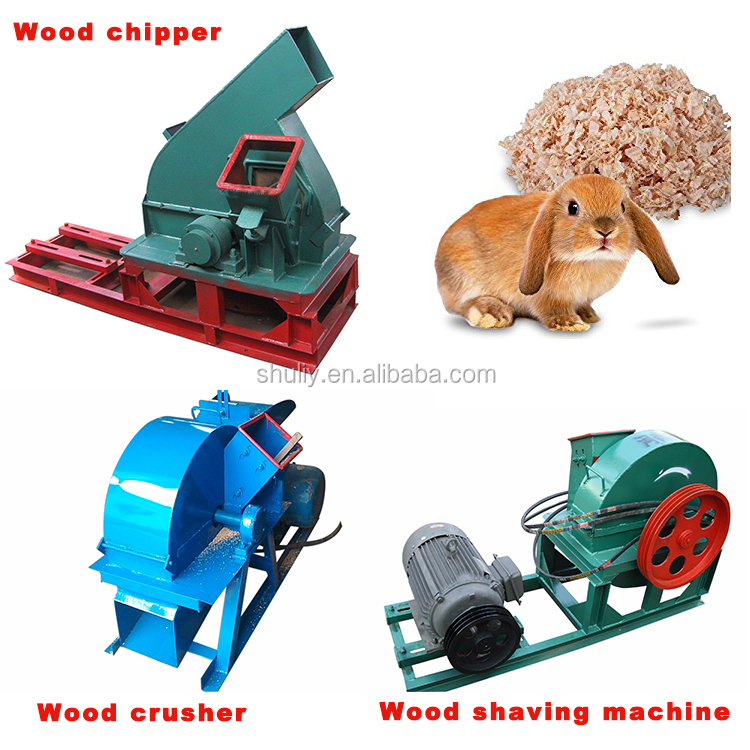 Low consume stalk and wood waste grinding chipper machine price