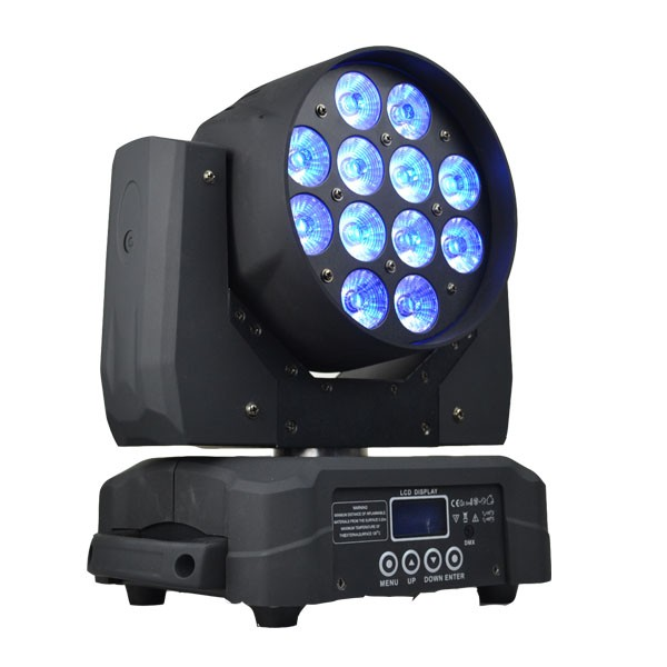 2017 quad led big concert show beam spot wash 12x10w light