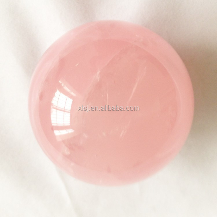 China Rose Quartz Sphere Cheap Crystal Ball