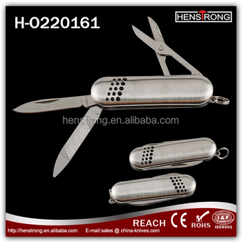 Promotion Gift Stainless Steel Mini Pocket knife