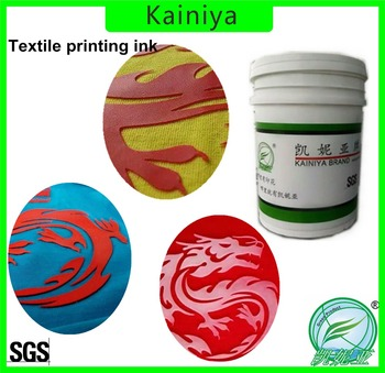 3d effect t shirt paste ink