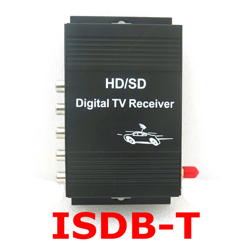 ISDB-T Digital TV Receiver Box Tuner for Brazil Argentina Chile with Antenna