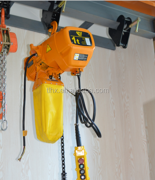 Electric Chain Hoist With Hook: Best Price Hook Suspension 1 Ton Electric Chain Hoist