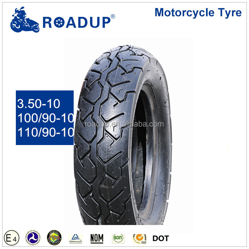 high quatity tubeless tire 100/90-10 motorcycle tyre in china