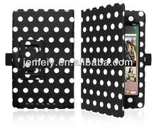 polka dot tablet case colorful leather soft case for google nexus7
