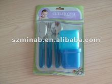 baby cutlery set with case