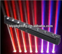 Highly brightness 8*10W RGBW led beam moving head light for disco