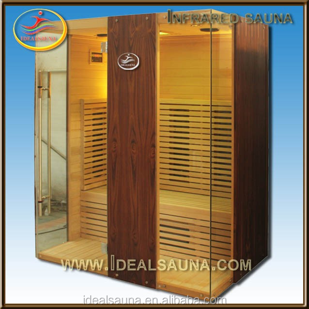3 Person Luxury Infrared Sauna Room Ozone Steam Sauna for Sale