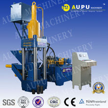 AUPU Y83-315 Hot sale hydraulic shaving copper briquetting press machine witt ce