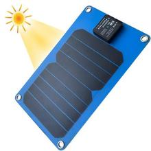 5w fast charging speed solar panel mobile charger with imported Sunpower panel