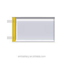 Rechargeable lithium ion polymer battery 3.7V 421133 110mAh Li-polymer cell for electric toothbrush