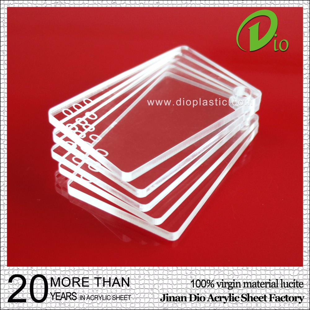 high quality durable cast 7mm clear acrylic sheet