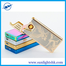 china wholesale dual arc lighter,smart lighter rechargeable electric lighter usb factory