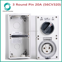 IP66 56CV series clipsal isolator switch socket