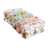 Sublimation printed cartoon toiletries travel bag, Korea style waterproof wash makeup cosmetic pouch pack dopp kits organizer