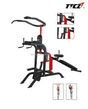 popular chin up/pull up multi station power tower with sit up bench