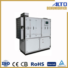 duct type us air ahu dehumidifier sale to malaysia and wet climate area 1200L/D ahu dehumidifier