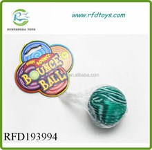 Colorful jumping ball toy bouncing ball 60mm kids bouncy ball